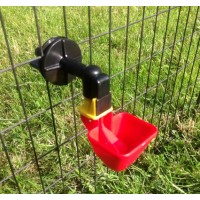 LARGE AUTO CUP DRINKER FOR POULTRY / CHICKEN /CHICK CAGE